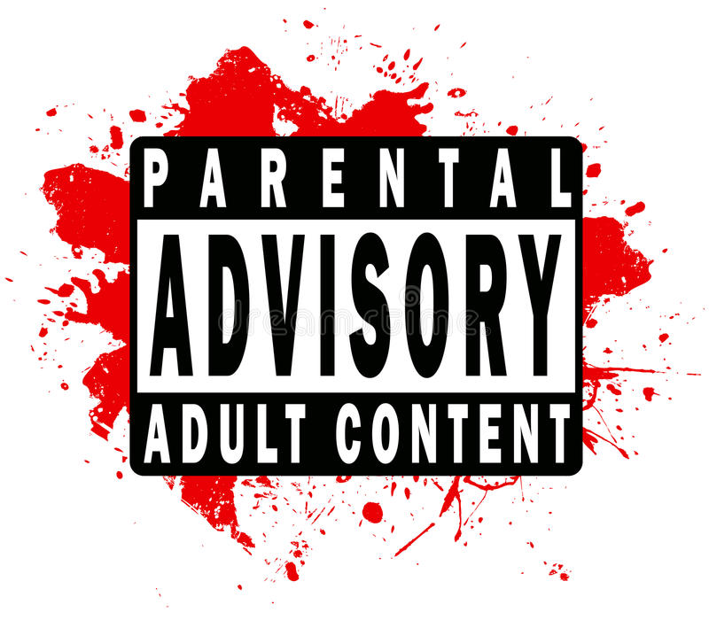 Download Parental Advisory Label Royalty Free Stock Photos - Image: 10077128
