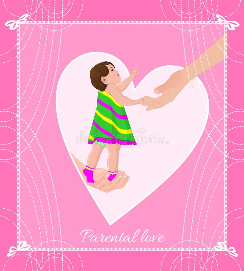 Parental love stock photography