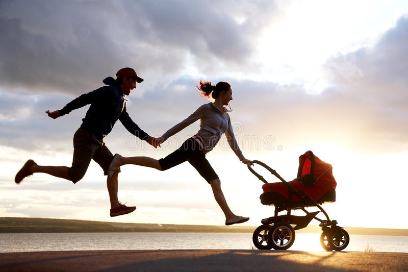 Parenthood royalty free stock photography