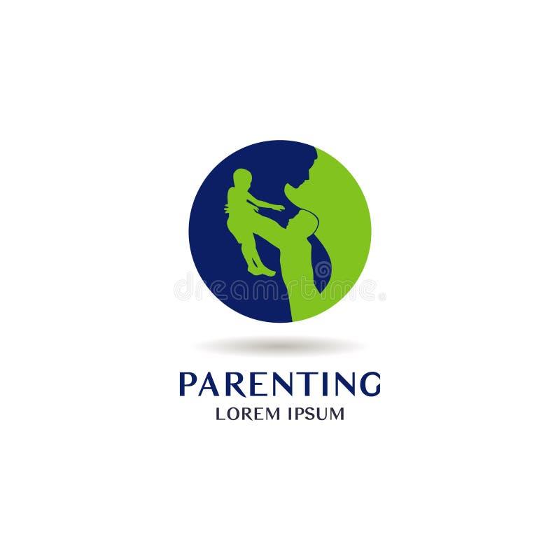 Parenting Logo Sign Symbol Icon ilustración del vector