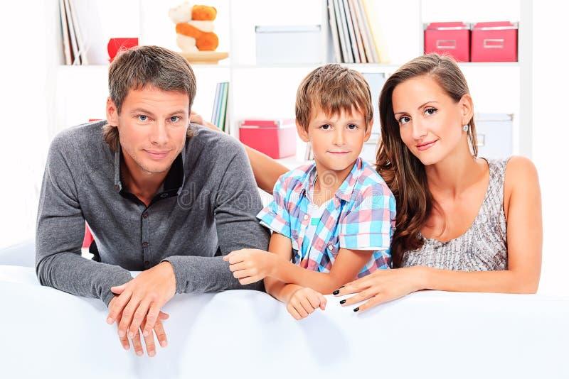 Parents сынок стоковое изображение rf