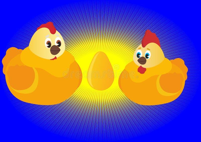 Download Parents stock vector. Illustration of rooster, offspring - 17822411