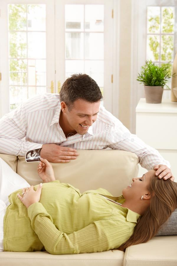Download Parents expecting baby stock photo. Image of happy, couple - 22856600