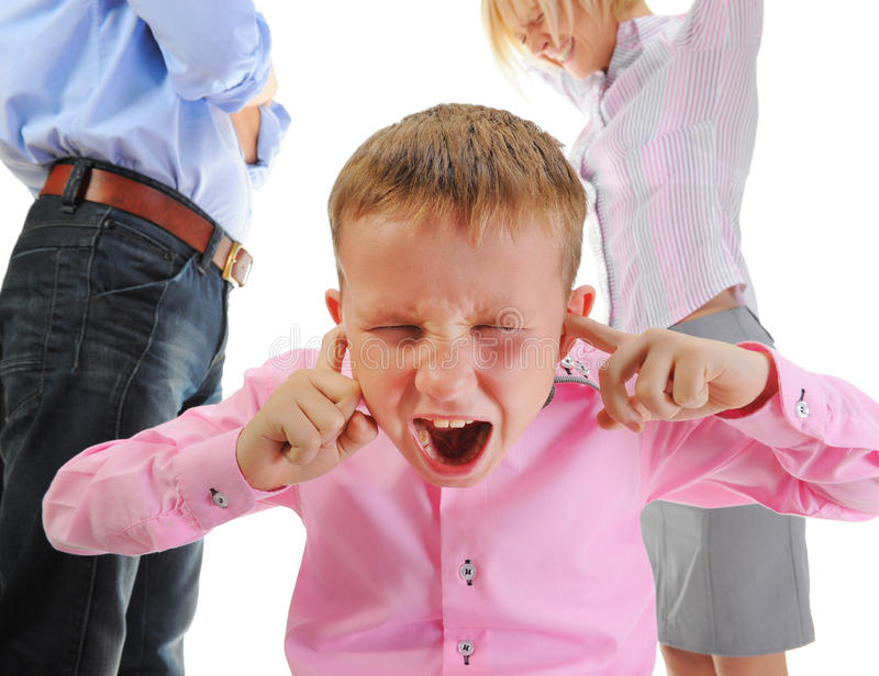 Download Parents share child. stock photo. Image of evil, punishment - 22262464