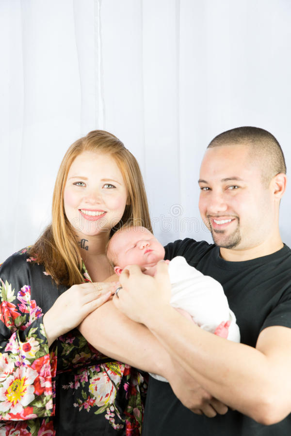Parents and son royalty free stock photos