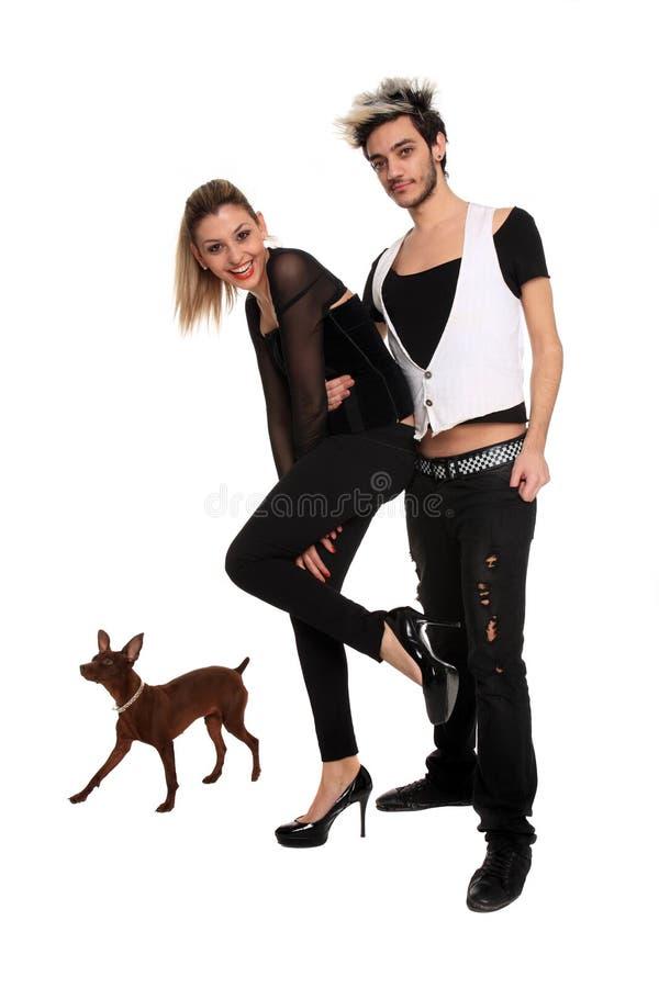 Download Pares à moda novos imagem de stock. Imagem de mulheres - 29830443