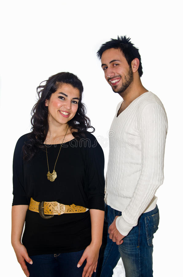 Pares árabes imagen de archivo libre de regalías