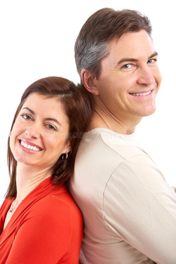 Download Pares imagem de stock. Imagem de sorriso, povos, homem - 12805481