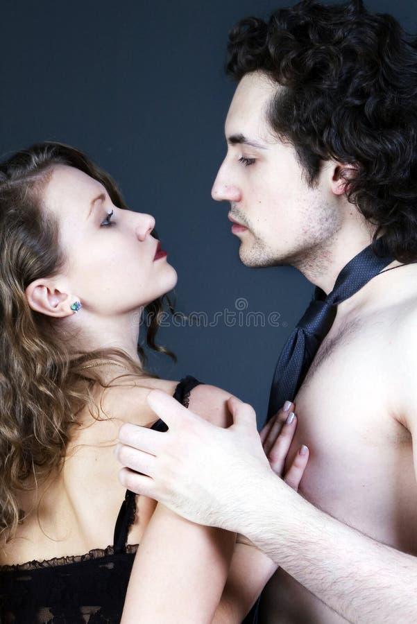 Pares adultos 'sexy' fotografia de stock royalty free