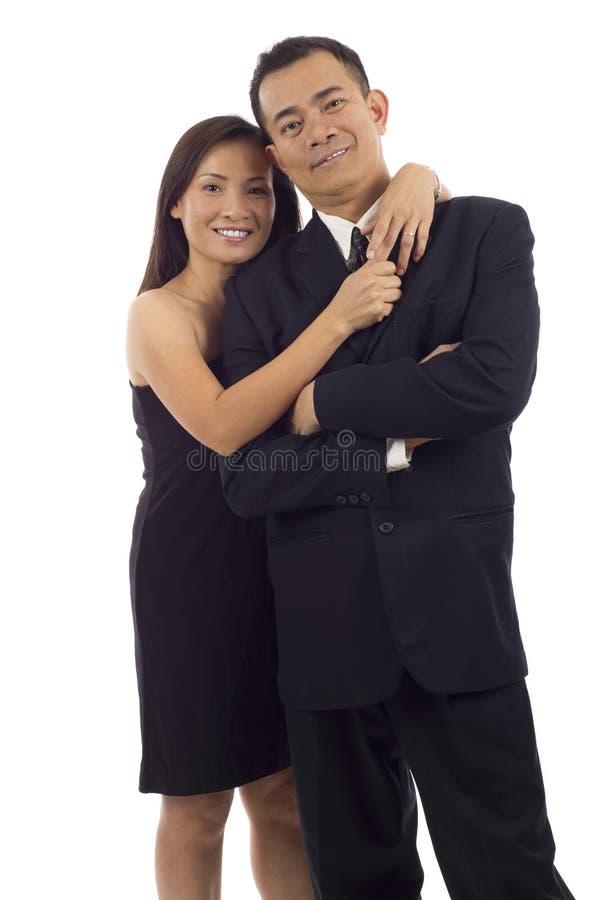 Pares asiáticos imagen de archivo