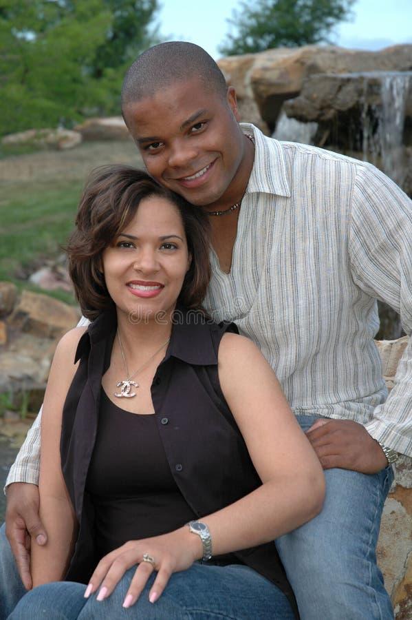 Pares casados felices 5 fotografía de archivo