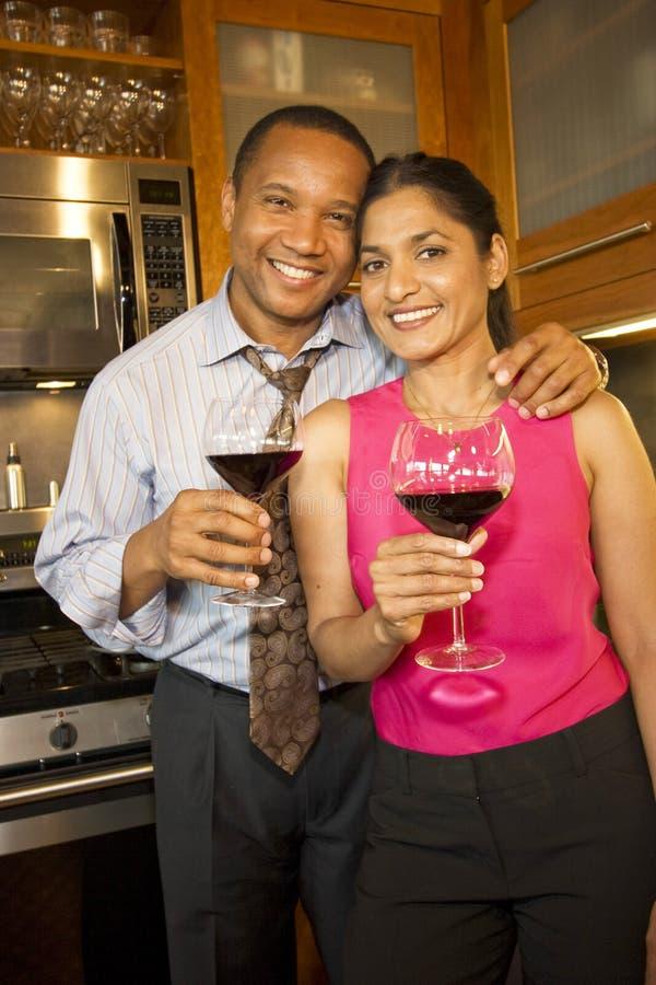 Pares con el vino imagen de archivo