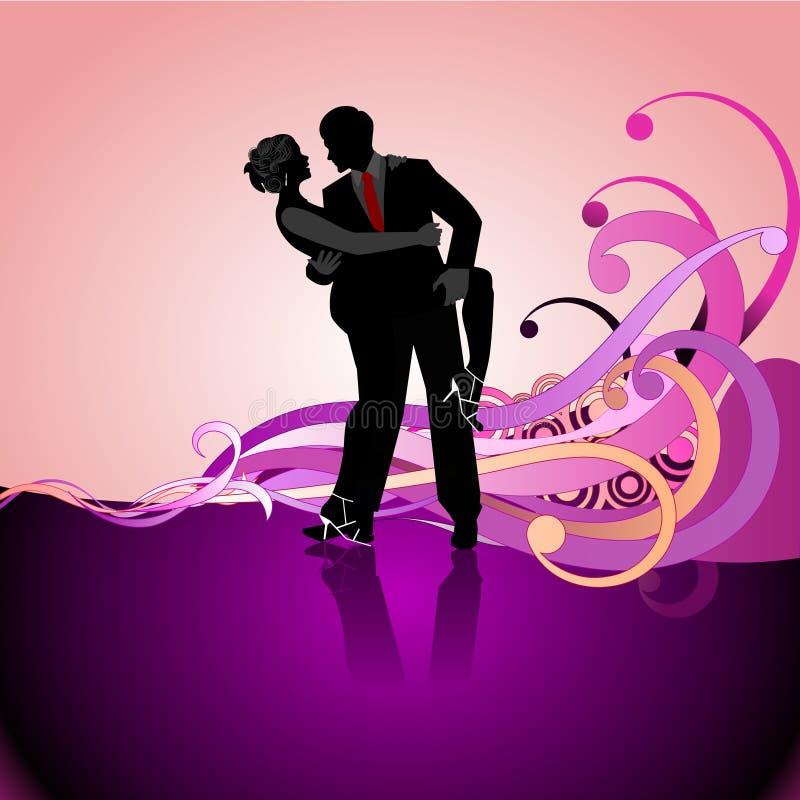 Download Pares da dança ilustração do vetor. Ilustração de ilustração - 10053703
