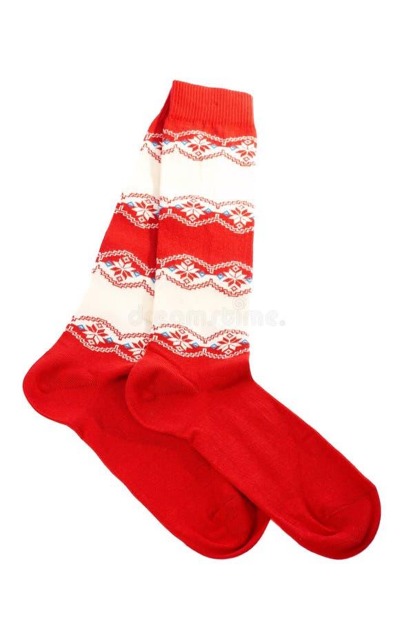 Pares de calcetines coloridos foto de archivo