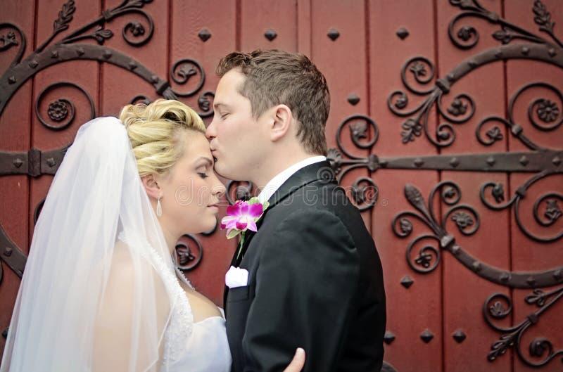 Pares de la boda fotografía de archivo