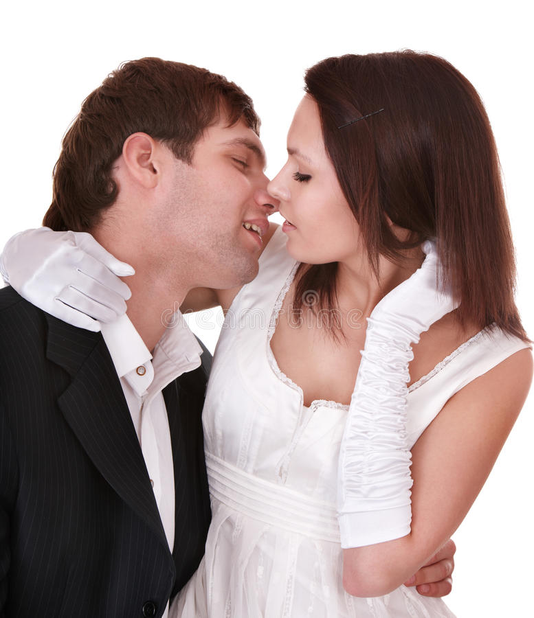 Pares de menina e de homem. Amor. fotografia de stock royalty free