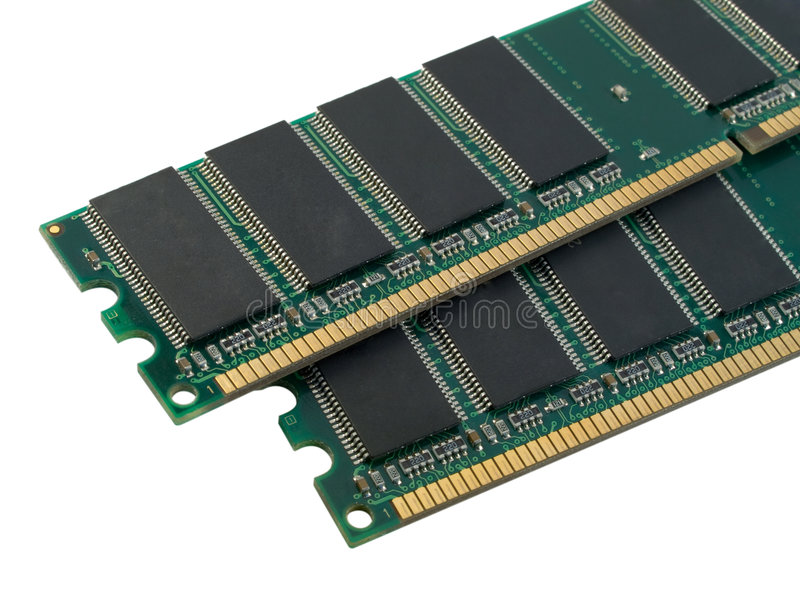 Pares de RAM fotos de archivo