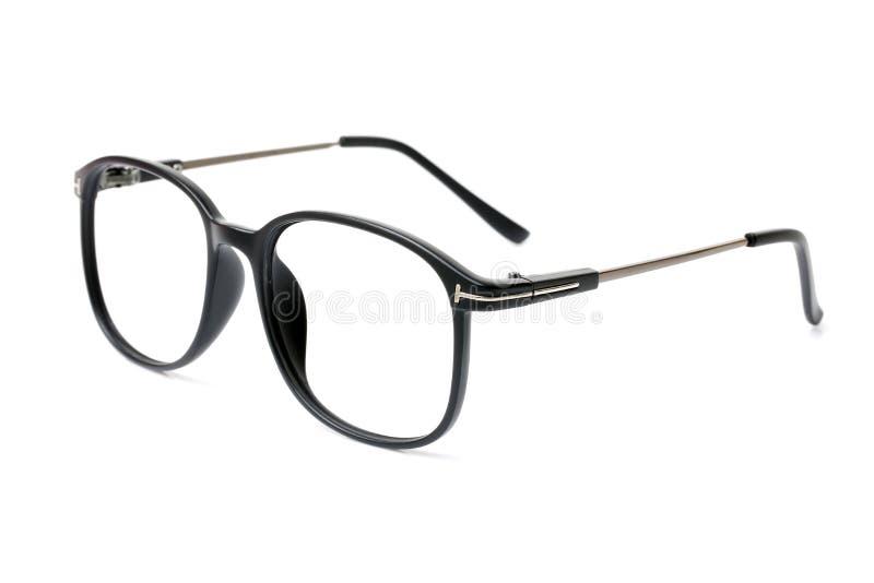 Pares de vidros modernos pretos do olho imagem de stock