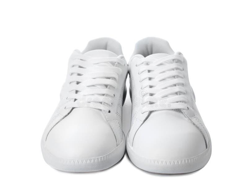 Pares de zapatillas de deporte de moda fotografía de archivo