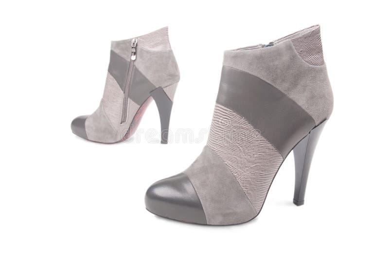 Pares de zapatos de los alto-talones imagen de archivo