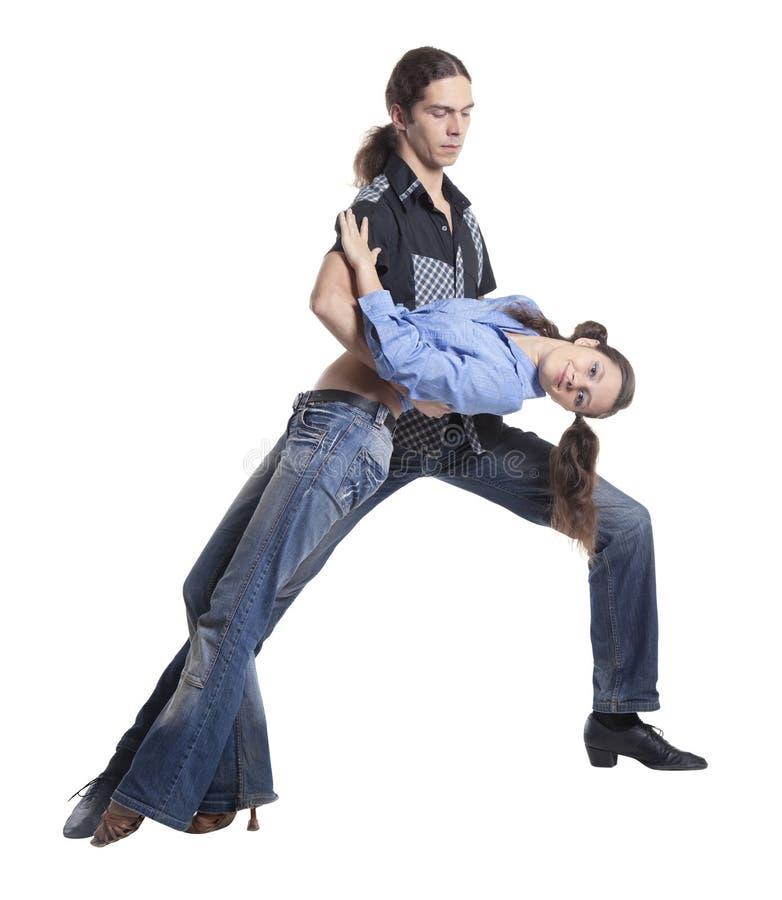 Pares del baile foto de archivo