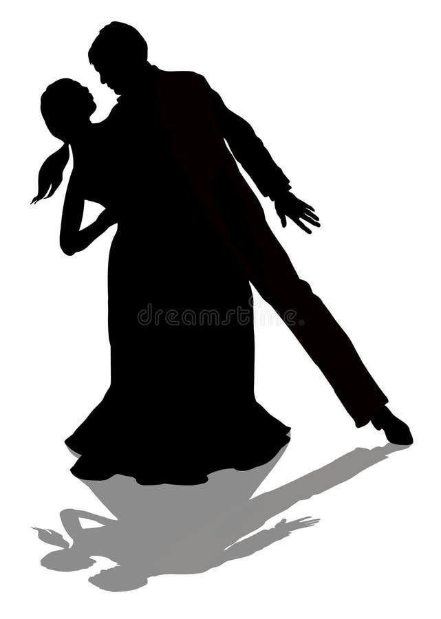 Pares del tango libre illustration