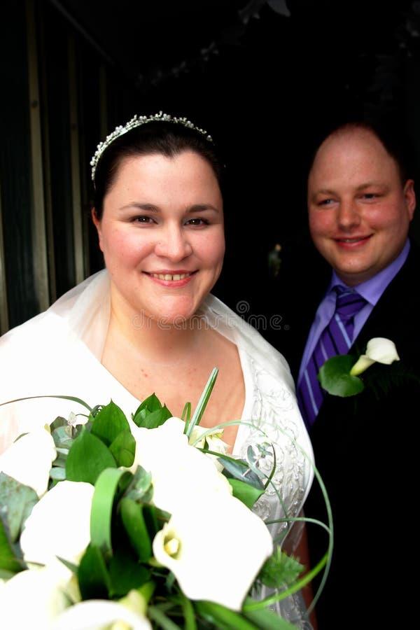 Pares do casamento fotos de stock