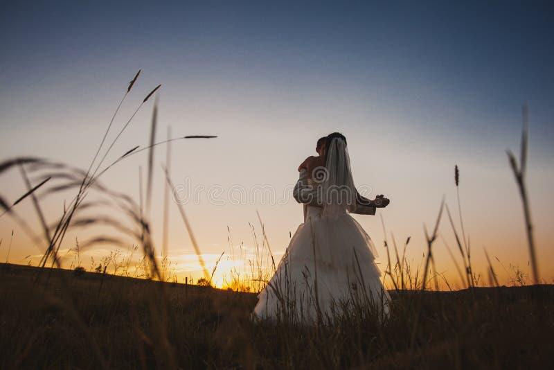 Pares do casamento da dança imagens de stock