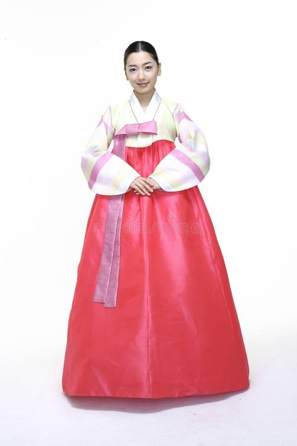 Pares en vestido coreano imagen de archivo. Imagen de tolerancia ...