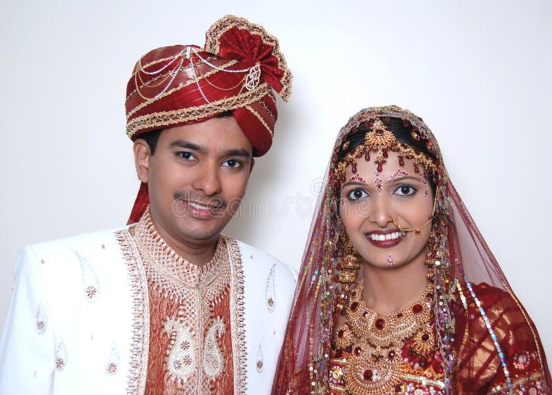 Pares indianos brilhantes fotos de stock