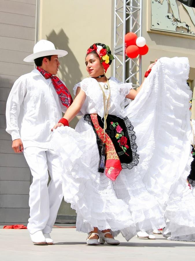 Pares mexicanos fotos de archivo