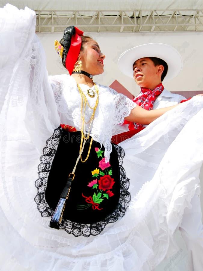 Pares mexicanos foto de archivo libre de regalías