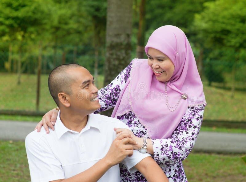 Pares muçulmanos fotos de stock royalty free