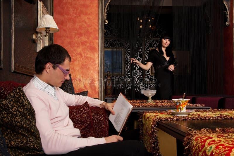 Download Pares Novos No Interior Luxuoso Foto de Stock - Imagem de contemporary, lifestyle: 12811510