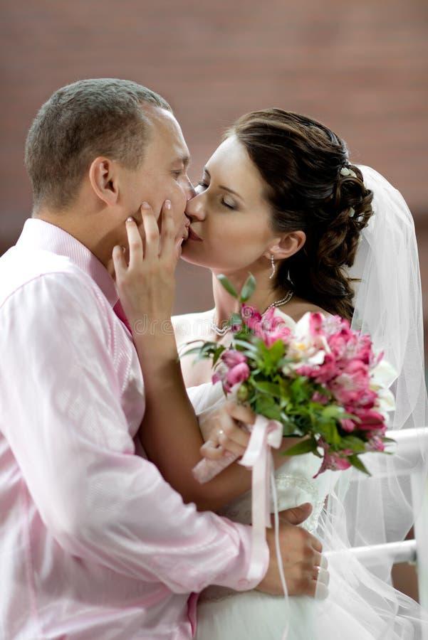 Pares nuevamente casados imagenes de archivo
