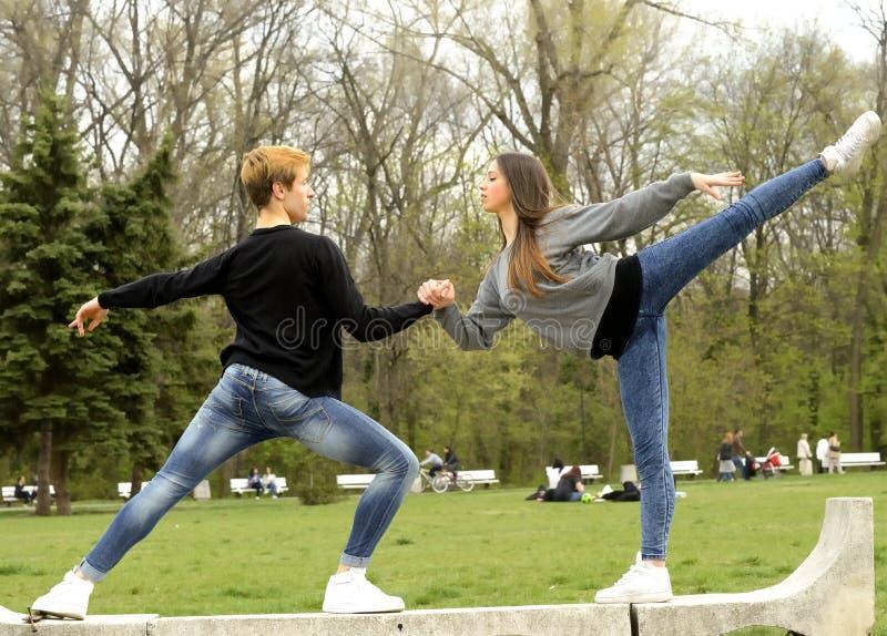 Download Pares Que Hacen Ejercicio Del Ballet Foto de archivo - Imagen de clásico, artista: 42440140