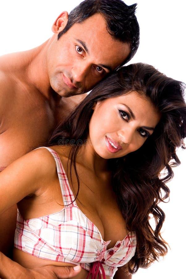 Pares quentes do Latino. fotos de stock