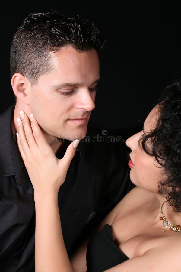 Pares románticos fotografía de archivo libre de regalías