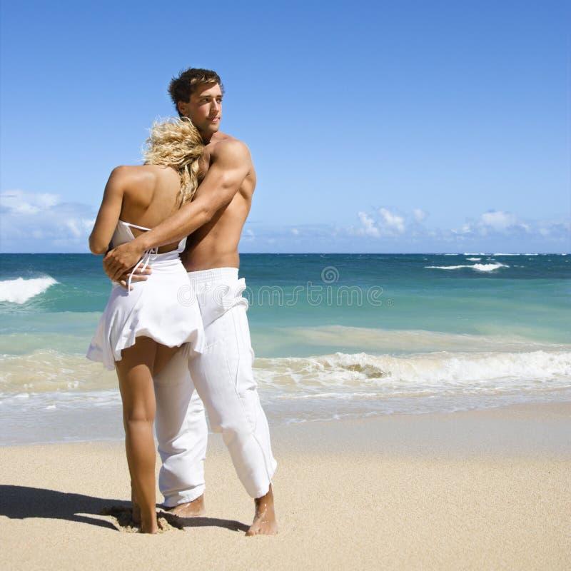 Pares românticos. fotografia de stock royalty free
