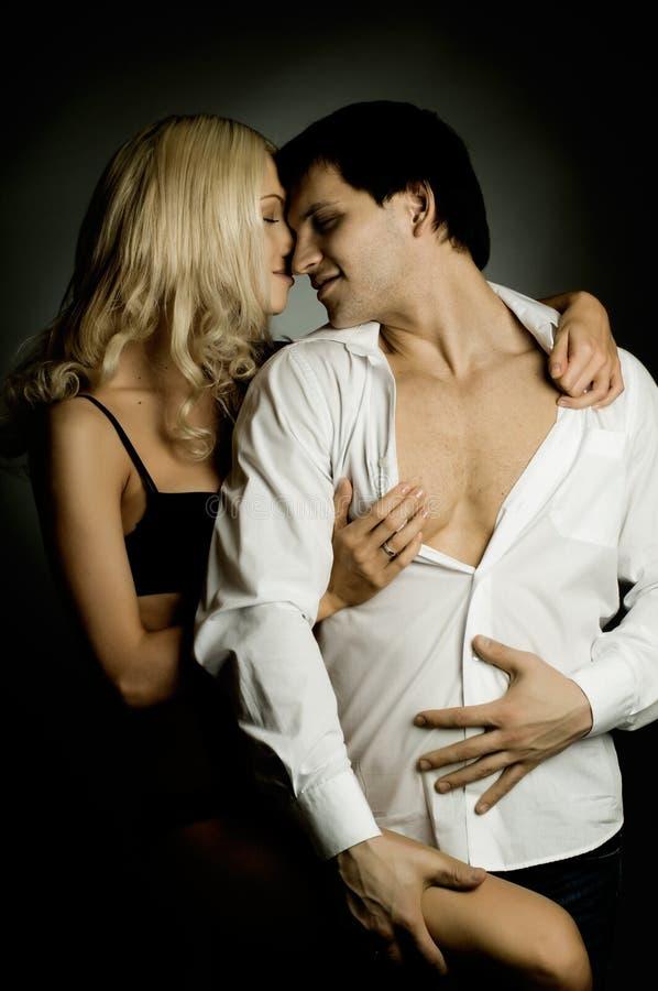 Pares 'sexy' imagem de stock royalty free