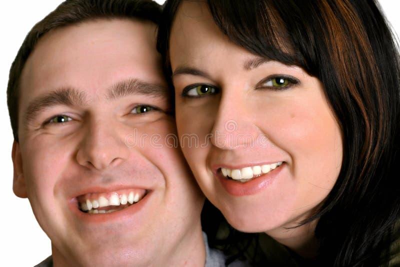 Pares - sorriso imagens de stock royalty free