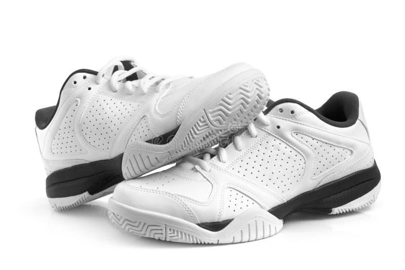 paret shoes sporten royaltyfri bild