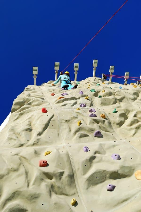 Parete 3 di scalata di roccia fotografia stock libera da diritti