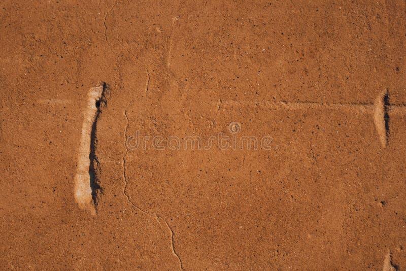 Parete arrugginita dell'estratto di struttura del fondo del ferro di Brown immagine stock