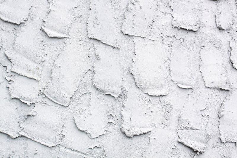 Parete astratta del cemento bianco fotografia stock