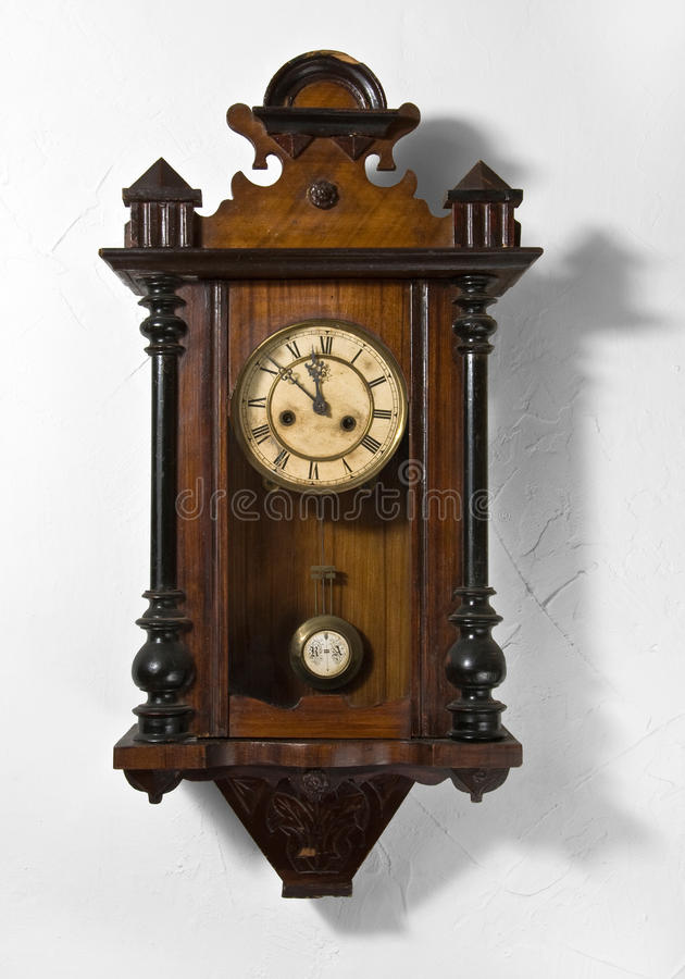 Parete Clock3 fotografie stock libere da diritti