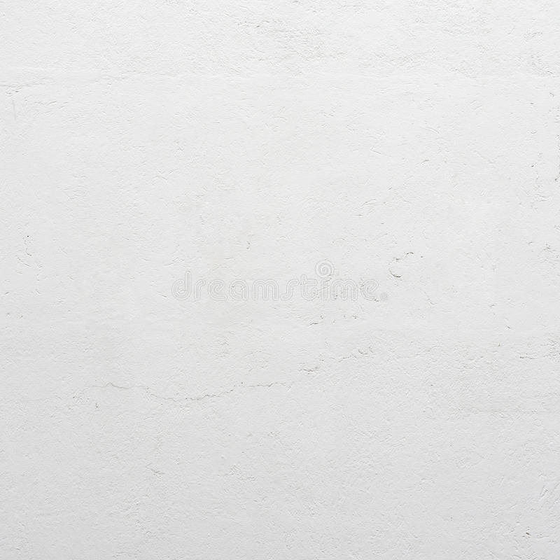 Parete concreta di lerciume dello stucco bianco fotografia stock