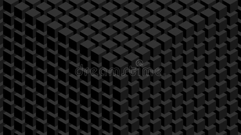 Parete dei cubi illustrazione vettoriale
