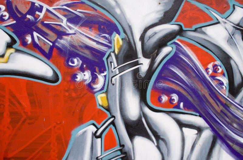 Download Parete dei graffiti fotografia stock. Immagine di colorful - 3137236