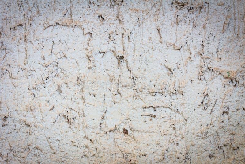 Parete del cemento di lerciume con struttura sporca polverosa fotografie stock